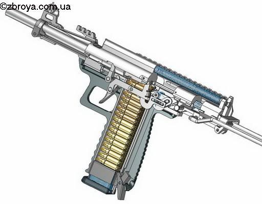 Пистолет-пулемет 5,7_28